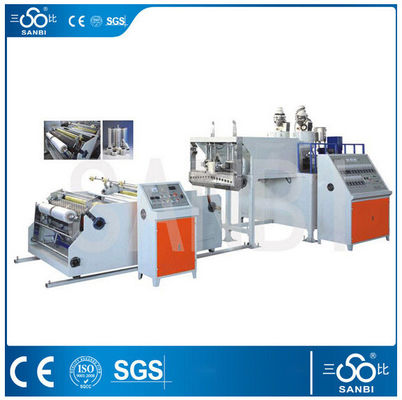 China Herstellungs-Maschinen-Polyäthylen-Blasfolie-Extruder der Stretchfolie-120Kw fournisseur